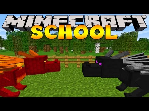 Thumbnail: Minecraft School : DRAGONS AT THE SCHOOL!
