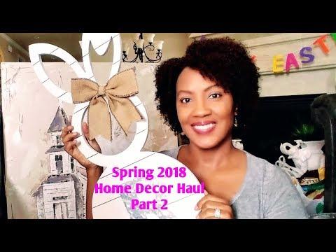 spring/easter-home-decor-haul-|-kirklands/wal-mart-|-part-2