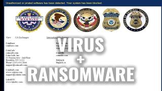 VirLocker Ransomware   Removal & Demo