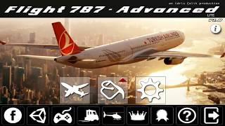 Menjadi Pilot Pesawat di Game Flight 787 Anadolu LS