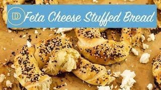 TIROKOULOURA: Feta Cheese Stuffed Bread Rings