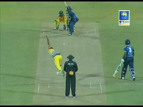 Avishka Fernando's 54 runs for Team Colombo vs Kandy