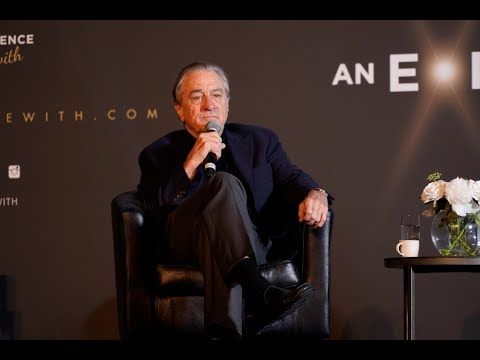 EXCLUSIVE Robert DeNiro Talks About New A Film The Irishman With Jo Pesci And Al Pacino.