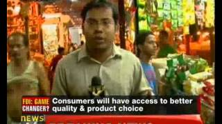FDI in retail to benefit farmers, consumers - NewsX
