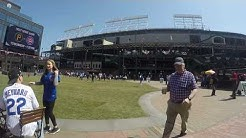 Gallagher Way at Wrigley Field Time Lapse