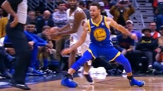 Stephen Curry Scary Injury - Breaks Ankle