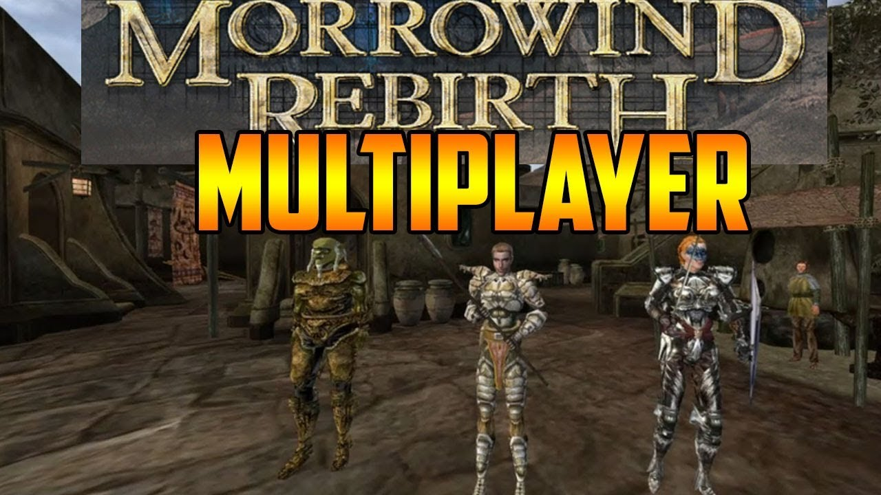 Morrowind Rebirth Overhaul in Multiplayer Pt  1 | Testing Rebirth (TES3MP)