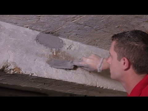 How To Repair Holes In Concrete Walls