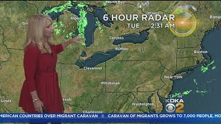 KDKA-TV Morning Forecast (10/23)