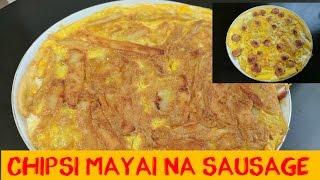 Chipsi Mayai na Sausage