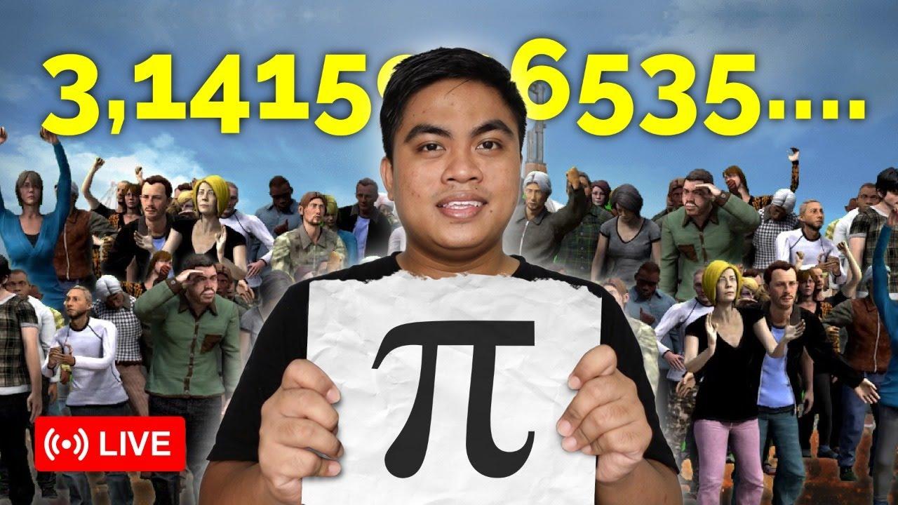 83.000 Orang Menghitung Nilai Pi Matematika - Sambil Main Geoguessr