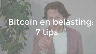 7 tips voor Bitcoin en je belasting aangifte 2014 - E007