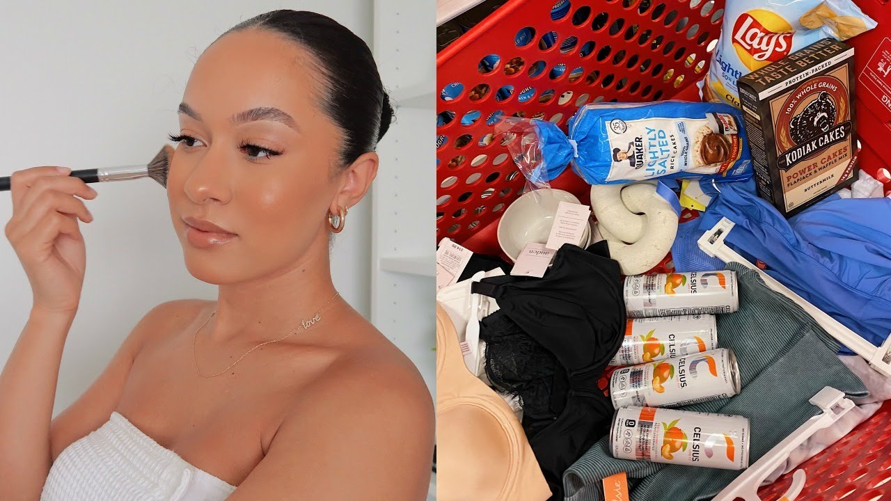 VLOG | Target Haul, GRWM, Bra Shopping (Finally), Easy Tacos | Marie Jay