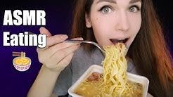 АСМР Итинг Доширак 🍜 ASMR Doshirak (Noodles) 🍝 EATING SOUNDS 🍲