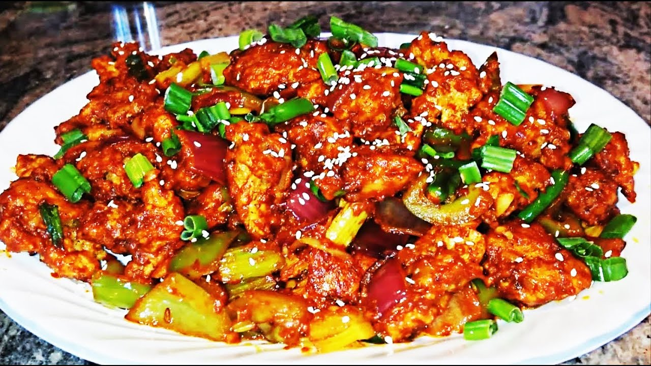 How to make Dry Chilli Chicken
