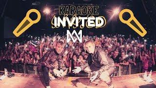 Marcus & Martinus - Invited (Karaoke w/ Lyrics)🎤