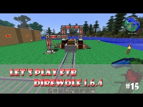 Let's play feed the beast fr direwolf 1.6.4 ep15: Energie