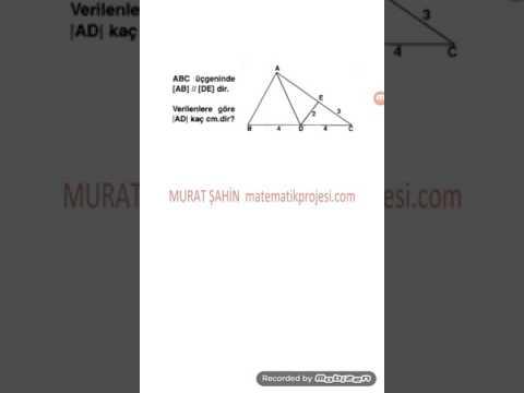 Kenarortay Teoremi Ve Uygulamaları -2