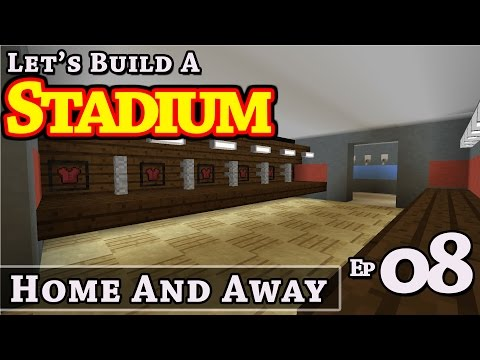 Stadium :: How To Build :: Home And Away :: E8 :: Minecraft :: Z One N Only