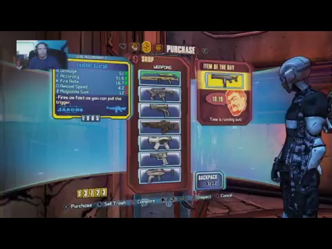 Borderlands 2 new character campaign stream #1 w/Phoenix Gaming
