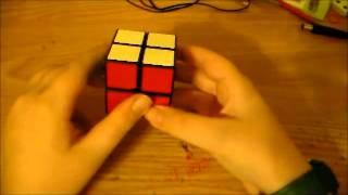 Rubiks Cube 2x2 CHEAT Easy Solve! 1 Algorithm!