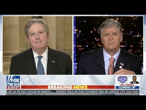 09 15 20 Kennedy talks coronavirus aid with Fox News's Sean Hannity