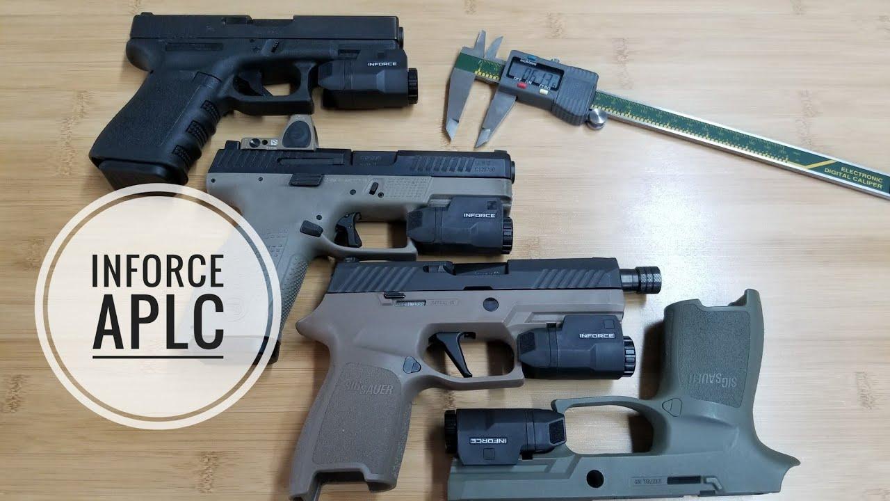 inforce aplc universal vs glock specific vs original glock
