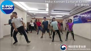 2018 K-pop Academy_주인도한국문화원 댄스 3주차_IndiaKoreanCulturalCenter-Dance week3