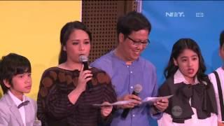 Erwin dan Gita Gutawa Gelar Showcase Di Atas Rata rata