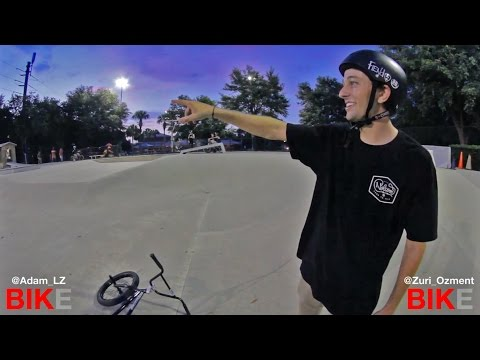 Game of BIKE: Adam LZ Vs. Zach Ozment