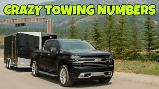 ARE YOU KIDDING ME? Half ton truck numbers are insane! 2020 Chevy can tow 13,400lbs!