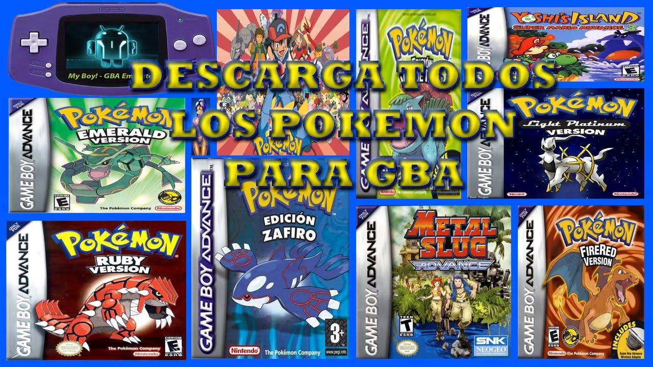 Descarga Todos Los Juegos Pokemon En Espanol Para Android Emulador