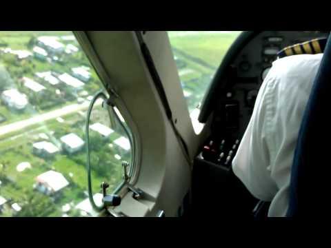 Landing in Ogle intl airport, Guyana