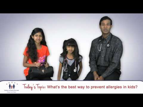 How to prevent Allergies in children?