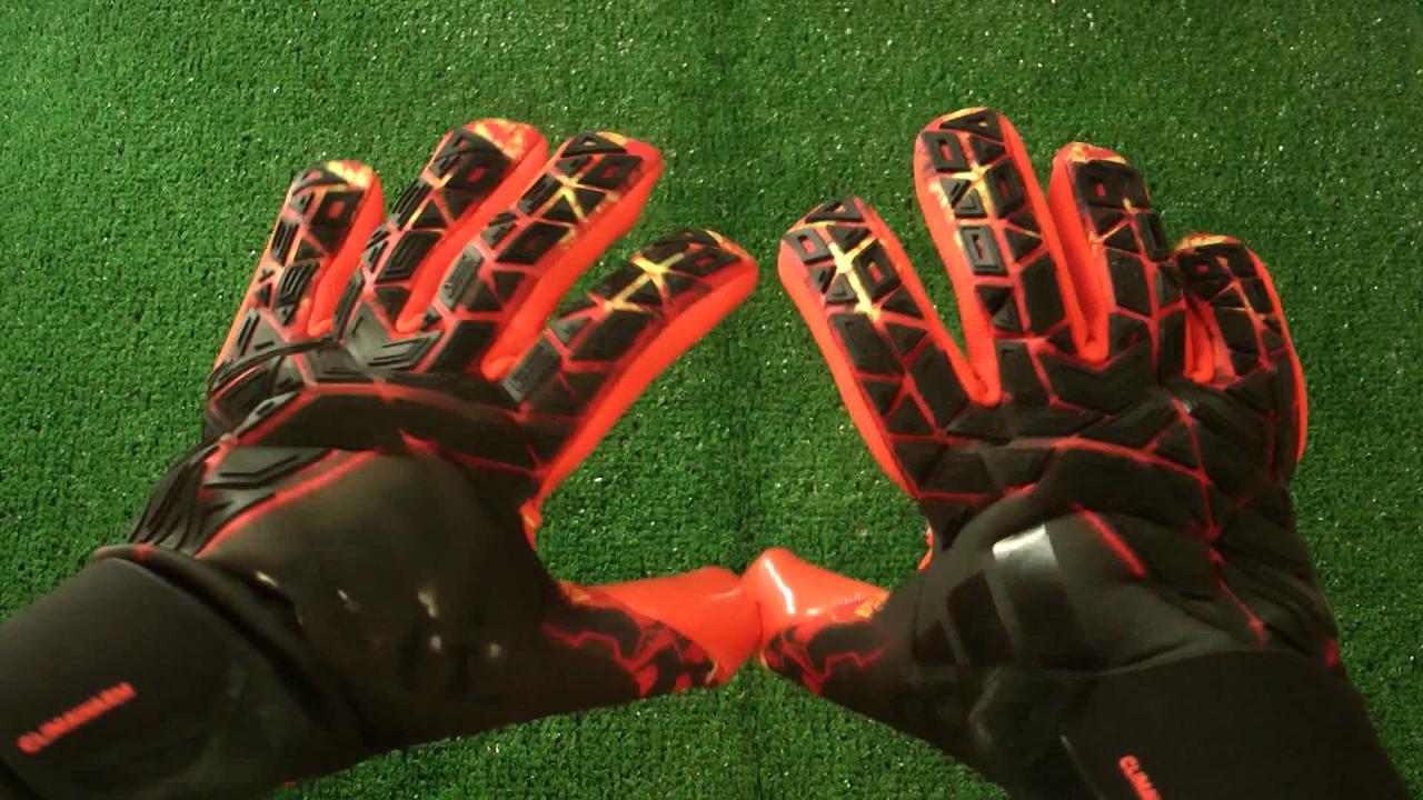 solar llamar Calle principal  Adidas Ace Trans Climawarm Goalkeeper Glove Preview - YouTube