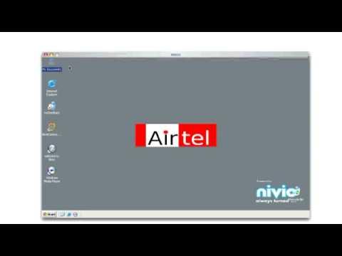 Airtel Online Desktop Demo