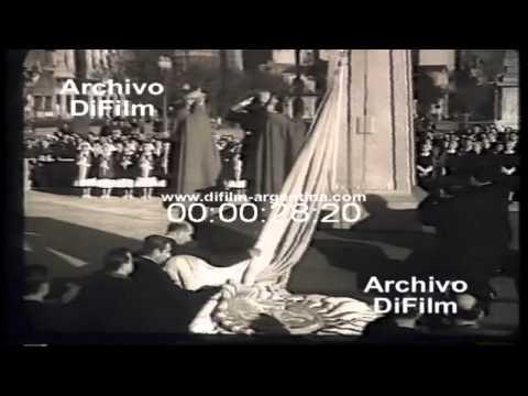 DiFilm - Festejo Día de la Bandera - Vuelta de Rocha La Boca (1952)