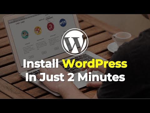 Install WordPress Blog or Website
