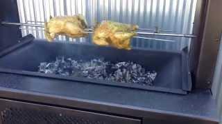 Винтажный мангал на углях GRILL MASTER(Новый угольный мангал, доступен в разных комплектациях. Базовая комплектация - решетка из нержавеющей стал..., 2014-07-15T12:40:15.000Z)