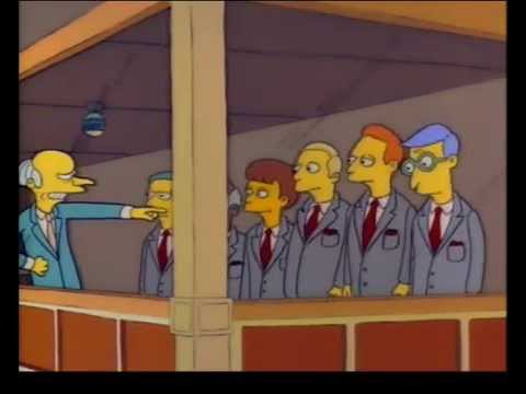 Mr. Burns - Hang Your Heads In Shame!