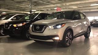2018 Nissan Kicks Sr Vs Sv Start Up And Comparison