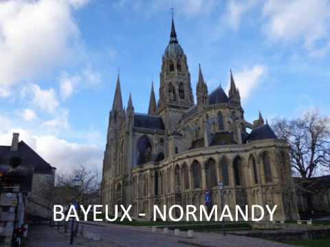 Bayeux walking route from the station to the tourist office