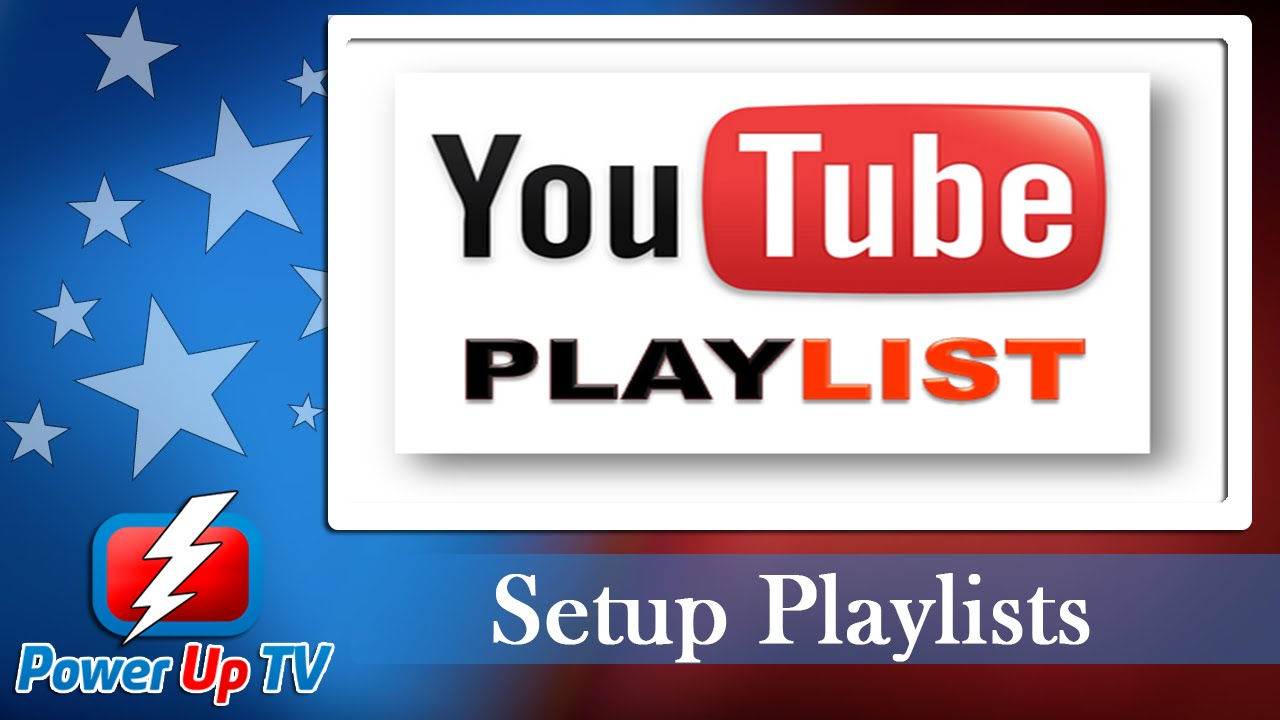 How to Setup YouTube Playlists Tutorial Guide