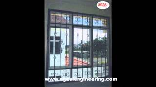 Agasi Engineering Window Steel Grill