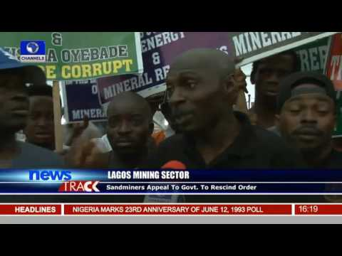 Lagos Mining: Sector Sandminers Appeal To Govt. To Rescind Order