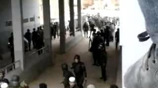 Repeat youtube video إستقبال حار لقوات الدرك الوطني العادلين عقب أحداث غرداية 26 12 2013