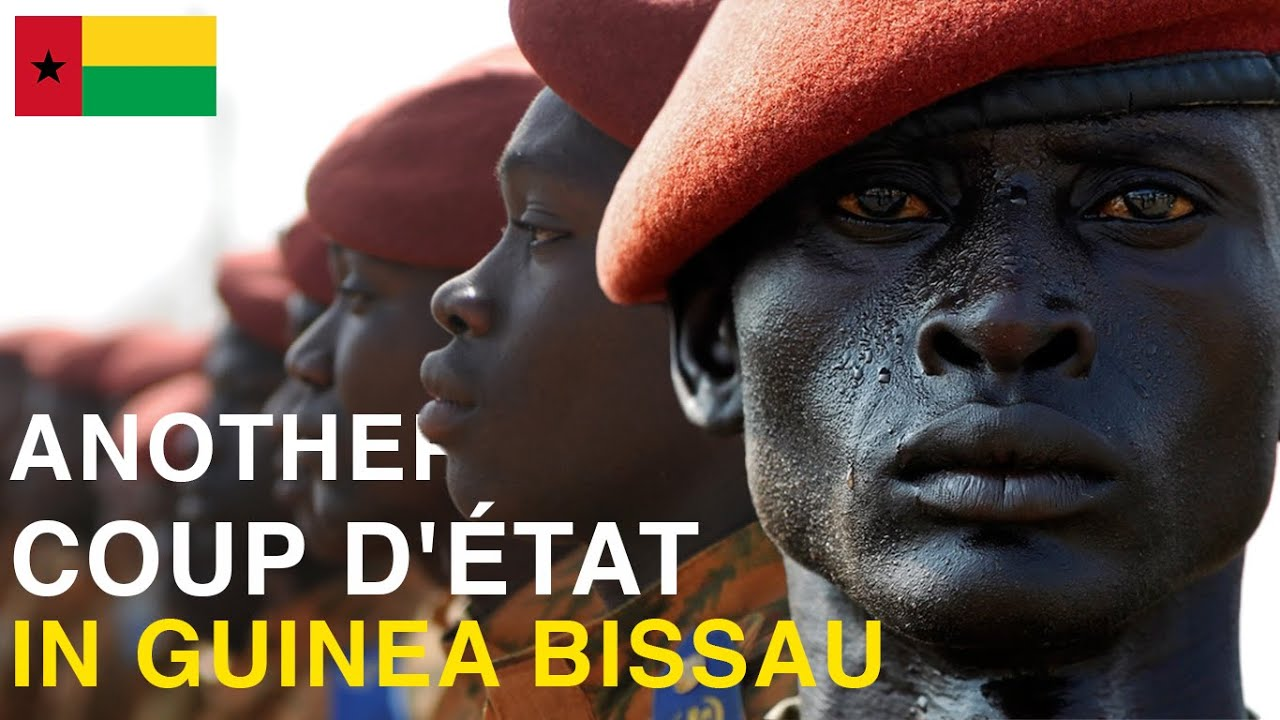 Another Coup Almost happened in GUINEA Bissau yesterday.
