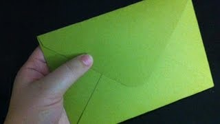 Paper Envelope || Easy ORIGAMI Envelope