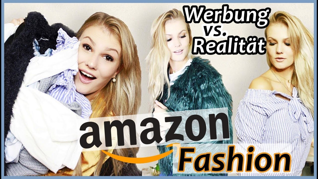 amazon fashion werbung vs realit t youtube. Black Bedroom Furniture Sets. Home Design Ideas