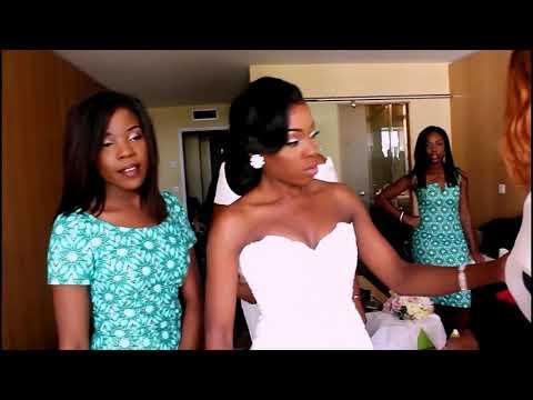 VIDEO: Joëlle Kabeya & Trésor BADIBANGA wedding day - suka na Mariage -